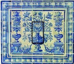 Resultado de imagem para pintura de azulejos à mão albarradas
