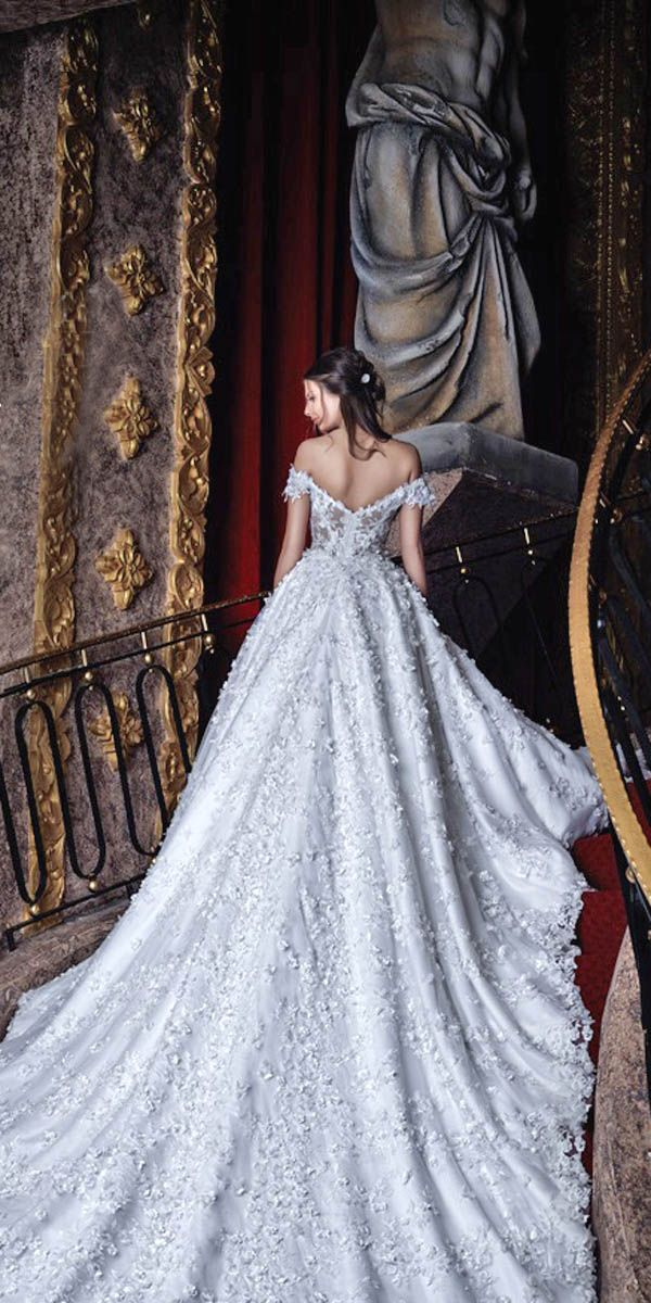 18 Various Ball Gown Wedding Dresses For Amazing Look ❤ See more…