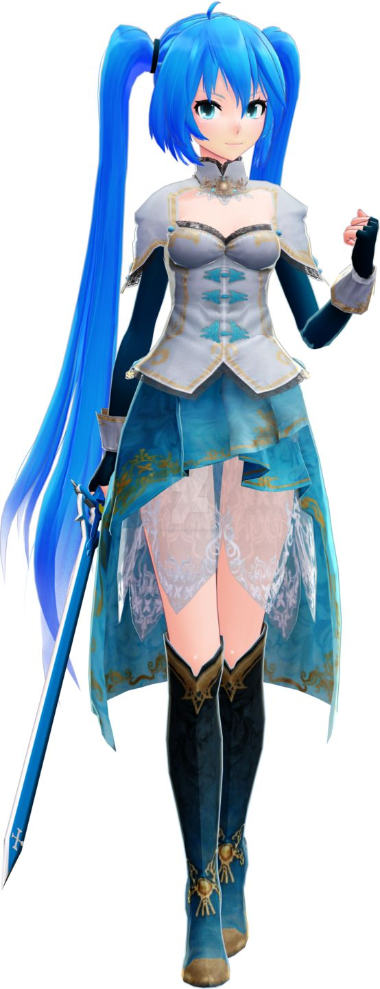 A rare Miku MMD Model is finally found!
