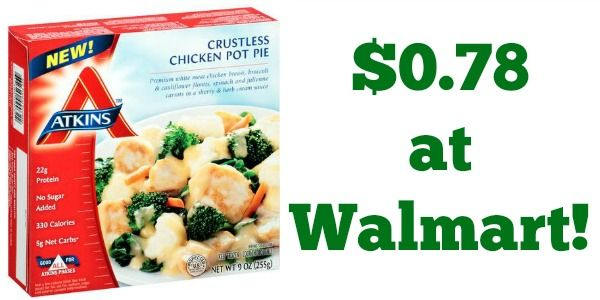 Walmart: Atkins Frozen Meals Only $0.78!