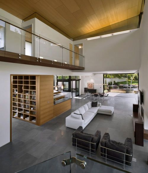 Clean modern look with an open feel.  This house has a LEED gold certification.  (Syncline House, Colorado)