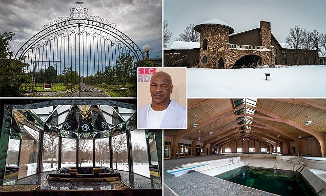 Mike Tyson's abandoned mansion to be transformed into a church