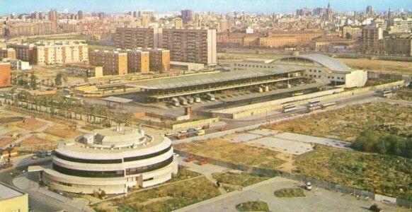 IVO. Solar del actual Nuevo Centro y estacion autobuses. Valencia. Spain