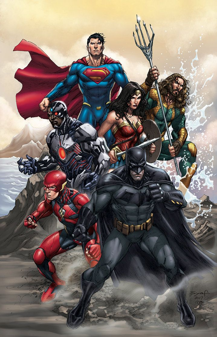 Justice League by Ardian Syaf - Visit to grab an amazing super hero shirt now on sale!