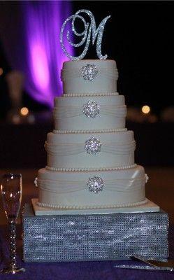 Monogram Wedding Cake Toppers | eBay I love the Cake too!