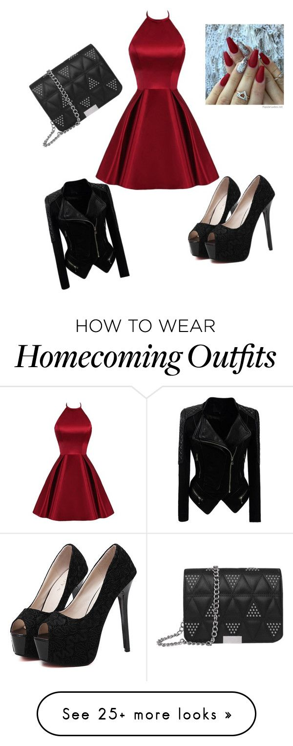 """""""cocktail dress"""" by brooklyn-vaughan on Polyvore featuring WithChic"""
