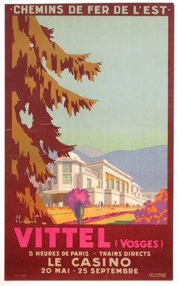 Vittel - Vosges - France - 1930 - illustration de P. Cammardond