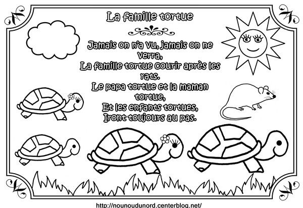 8 best au clair de la lune images on pinterest for kids kids crafts and moon crafts - Coloriage tortue ...