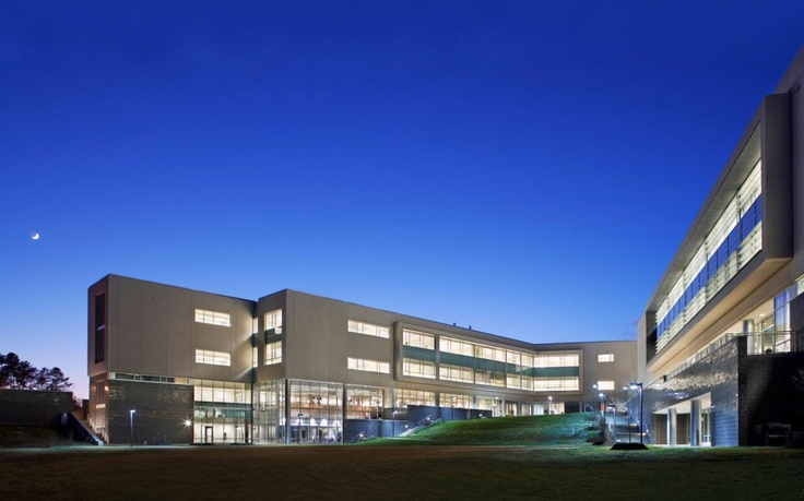 Buildings A and B, Wake Tech's Northern Wake Campus in Raleigh, NC.