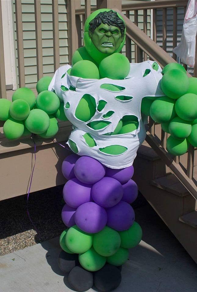 Hulk Balloon Idea