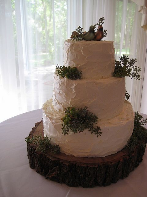 Rustic Farm Wedding cake