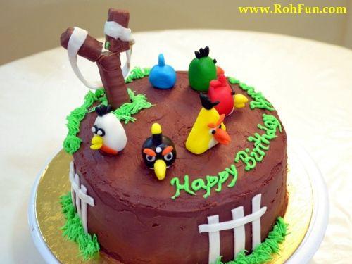 Happy Birthday Angry Birds Bird Picture Wallpaper Cake On Pinterest