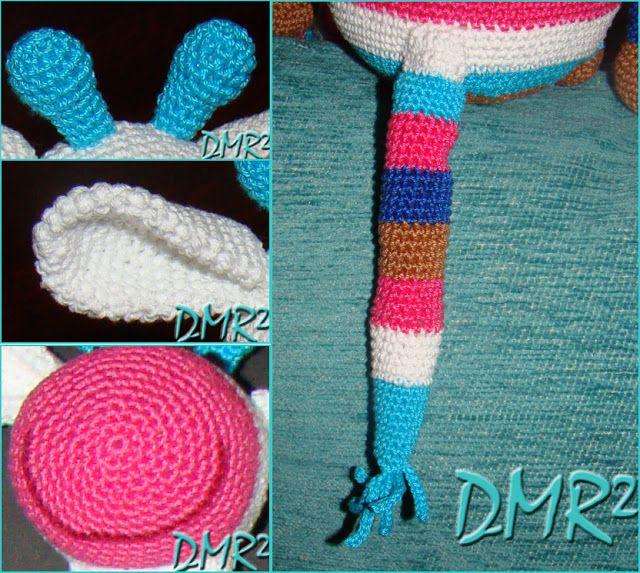 DMR²: A GIRAFFE MATILDE - CROCHET