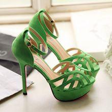 Color Ugtrepsol Zapatos Agua Tacon Verde es e9DHEW2IY
