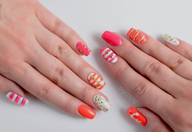 ZigiZtyle: Nautical nails, sailor nails