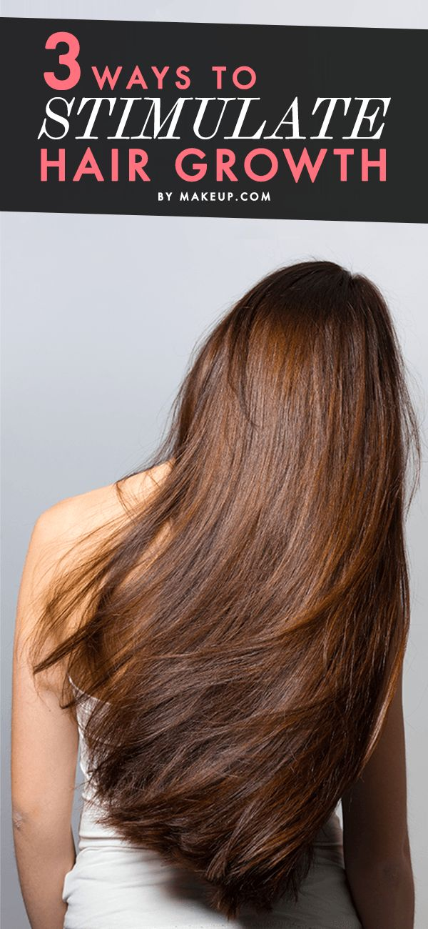 Are you growing your locks out? Have long hair by summer by following these three tricks to stimulate hair growth.