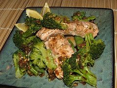 Jamie Oliver's Asian-style Steamed Salmon