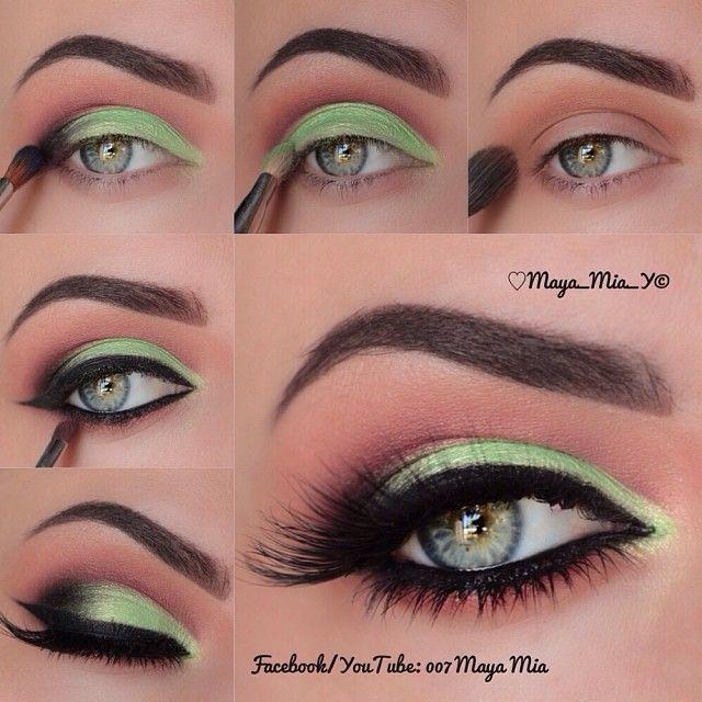 .@maya_mia_y | Video tutorial on this look is up on my YouTube Channel 007 Maya Mia the link... | Webstagram