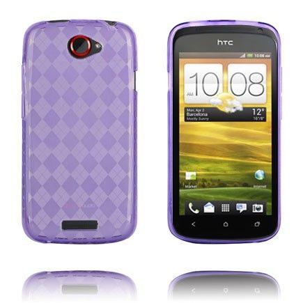 Tuxedo (Lilla Gjennomsiktig) HTC One S Deksel