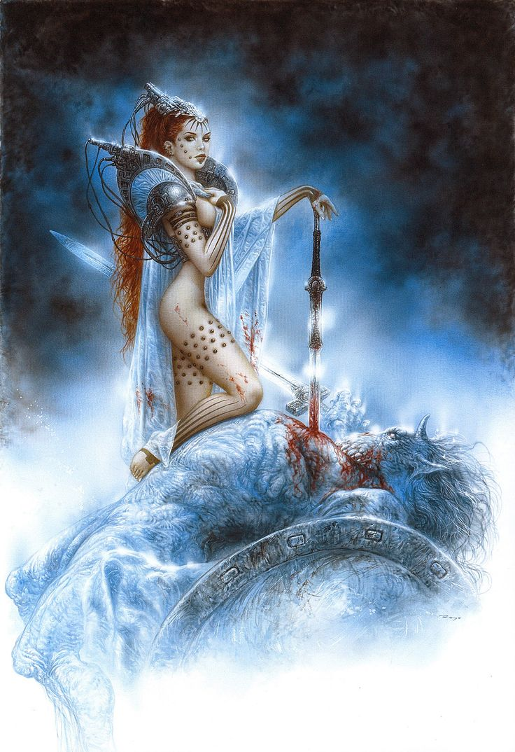 Luis Royo - The Fall under Ishtar