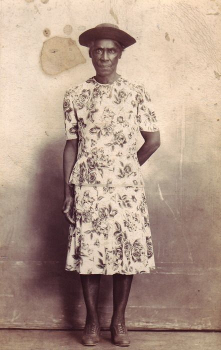 This is a found photograph from an antique shop in Georgia. There's no identifying information but the donor estimates the image was taken sometime in the 1920s. Submitted by Lisa Henderson (Atlanta, Georgia).
