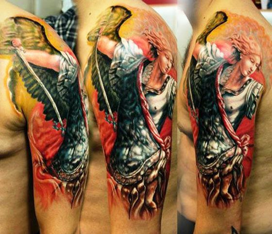 99 Breathtaking Angel Tattoos With Meaning: 1371 Best Incredible INK Images On Pinterest