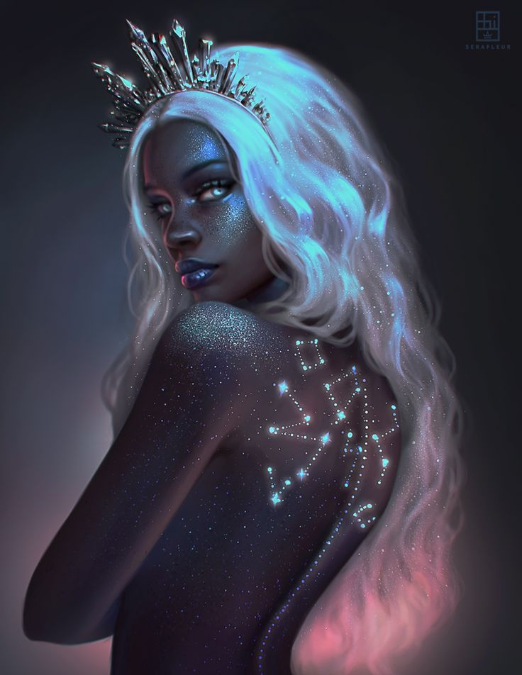 YOU CAN SUPPORT ME ON PATREON ( HI-RES IMAGES, STEP-BY-STEP, LAYERED PSD FILES, BRUSHES, VIDEOS )►HERE What constellations do you see?  Will add this as print on my socie...
