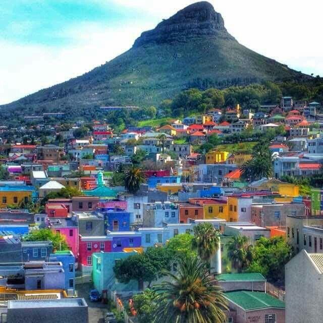 Cape Town South Africa Cape Malay Quarter