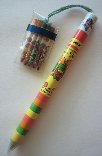 Every time someone went abroad they would come back with one of these. #80sthrowback