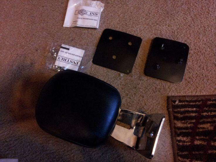 Harley Davidson Deuce sissy bar & backrest pad #HarleyDavidson