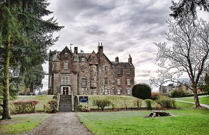 Balhousie Castle. Home of the Blackwatch.