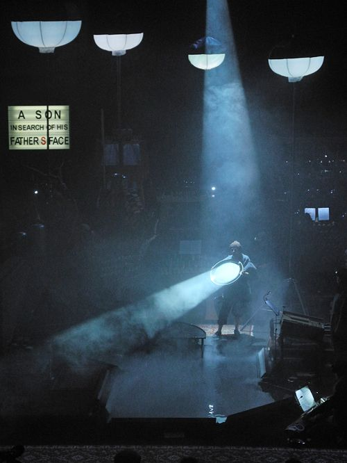 Delusion of the Fury (Harry Partch), Set design and Light: Klaus Grünberg, Costume: Florence von Gerkan, Ruhrtriennale 2012 – 2014 (with Musikfabrik Köln)