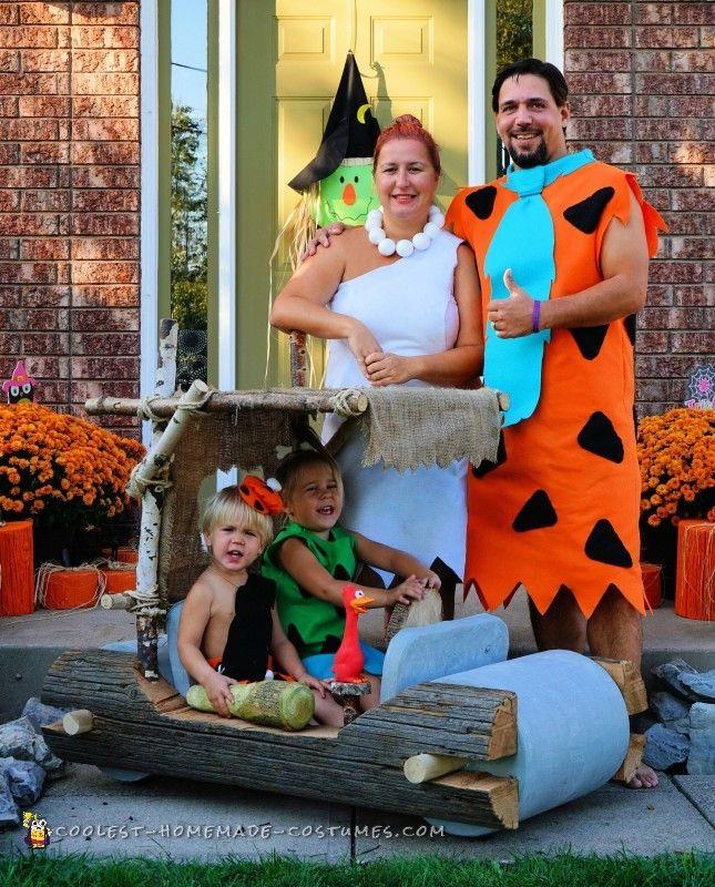 100 best halloween costumes images on pinterest halloween prop coolest flintstones family and car costume solutioingenieria Images
