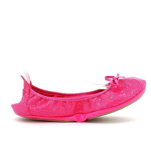 GOODTIMES 2 foldable flats in hot pink. #mybetsonBetts #BettsRaceDayReady #BettsShoes #shoes