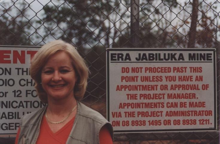 Shut the gate on that one!  Jubiluka Uranium Mine, Kakadu National Park, NT Australia