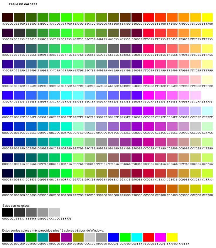 todo sobre los colores parte 2