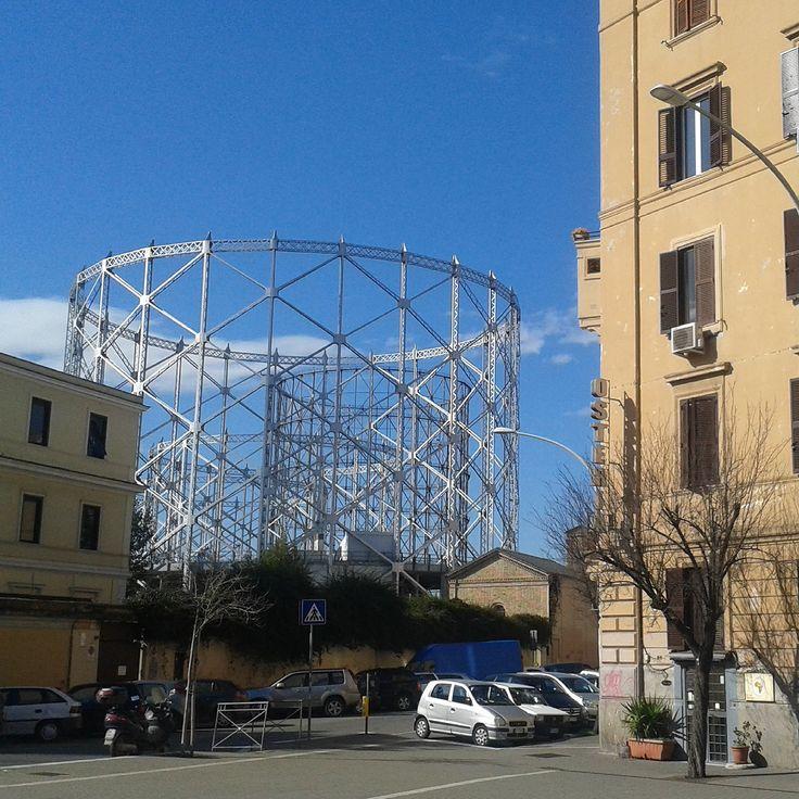 21/2/2015 nubesviajeras.com #piazzadelgazometro.  #Roma #Rome #italia #italy #viajes #travel #1fotoaldía #picoftheday #aroundtheworld #Nubesviajeras