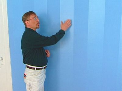 Painting subtle vertical stripes- love love love! But do I have the patience?
