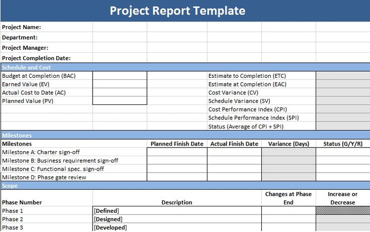 Project Management Update Template Aprilonthemarchco - Project management status update template