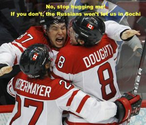 Canadian Ice Hockey Team Withdraw from Sochi Olympics