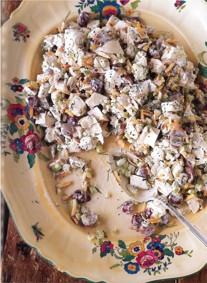 Trisha Yearwood's Chicken Poppy Seed Salad Recipe