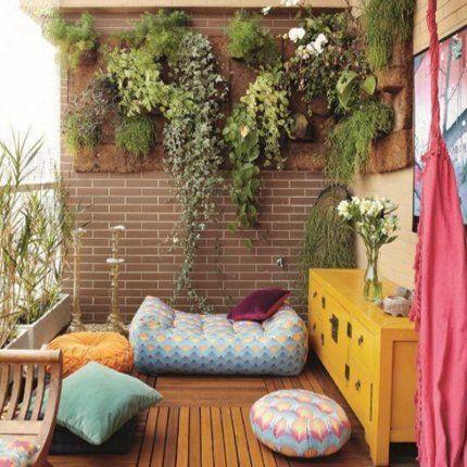 Un balcon comme un petit salon