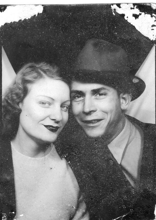 Hank Williams Sr. and his wife Audrey