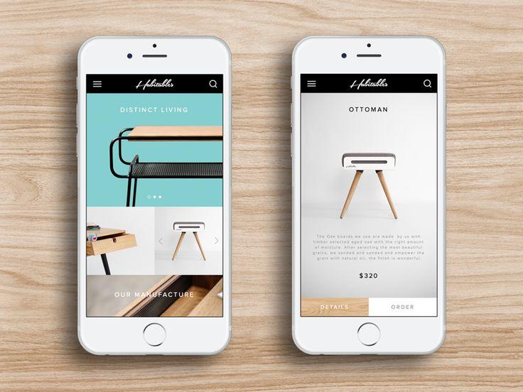 Mobile store concept for Habitables furniture