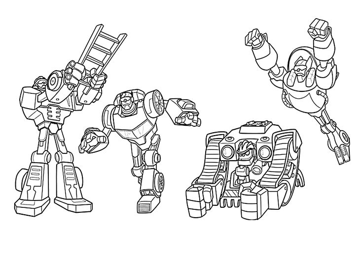 All Rescue Bots Coloring Pages For Kids Printable Free Transformers Rescue Bots Coloring Pages