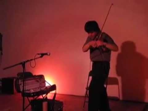 C. Spencer Yeh performing at Lamp 5.23.09