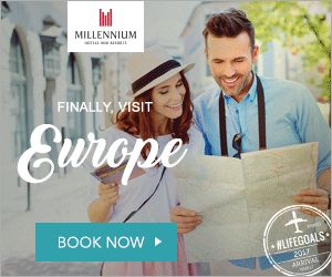New Offers and Deals: Year-End Break Coupon at Millennium Hotels & Resorts Singapore  BOOK NOW  Year-End Break Offer  Up to 20% off  Millennium Hotels & Resorts Singapore  T&C:   Offer valid until 30 November 2017  Offer stay period is until 31 March 2018  http://ift.tt/2mOdcgi