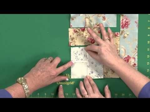 Cabin Rose Quilt Tutorial - YouTube