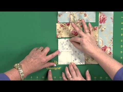 Cabin Rose Quilt Tutorial - YouTube