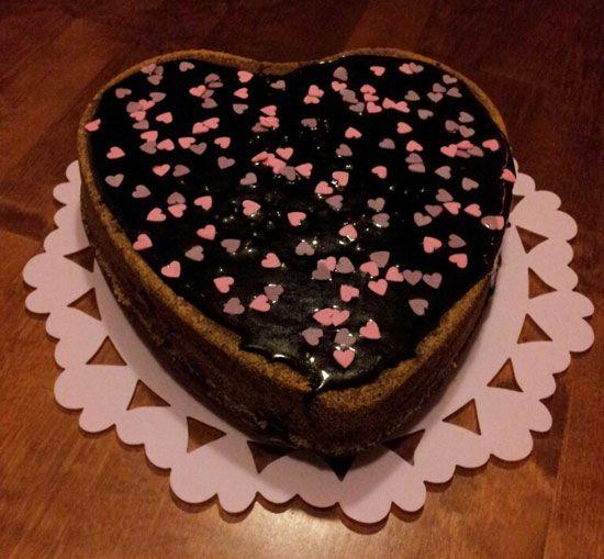 Suklainen ystävänpäiväkakku